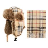 12 Units of PLAID TROOPS & SCARF SETS - Winter Sets Scarves , Hats & Gloves