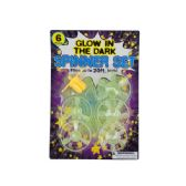 72 Units of Glow in the Dark Spinner Set - Novelty Toys