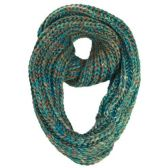 12 Units of MULTI COLOR INFINIT SCARF - Winter Scarves
