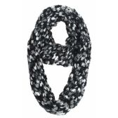 24 Units of MIXED COLOR KNIT INFINITY SCARF - Winter Scarves