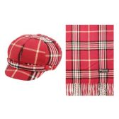 12 Units of CABBIE HATS AND SCARF SETS - Winter Sets Scarves , Hats & Gloves