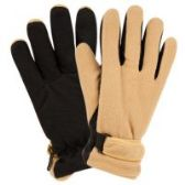 24 Units of MEN'S THERMAL FLEECE GLOVE ASSORTED COLOR