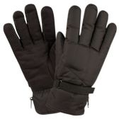 12 Units of MEN WINTER SKI WATERPROOF GLOVE WITH THERMAL FLEECE LINING