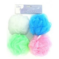 72 Units of Body scrubber (assorted colors) - Loofahs & Scrubbers