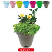 36 Units of planter 10.6x8.4 height assorted