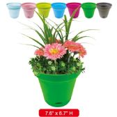 "96 Units of planter 7.6x6.7""height assorted"