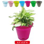 "36 Units of planter 9.3x8.3""height assorted"