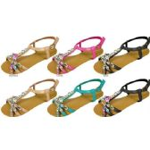36 Units of Ladies Patent Sandals