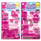 48 Units of Doll Home Play Set - Dolls