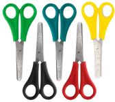 96 Units of 5 Inch Scissor - Blunt Tip - Scissors