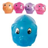96 Units of PIGGY BANK ASSORTED COLORS - Coin Holders/Banks/Counter