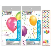 96 Units of Birthday Table Cover - Party Paper Goods