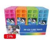 96 Units of 2 pack ice cube trays - Kitchen