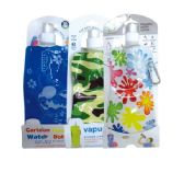 96 Units of foldable water bag Assorted Styles - Drinking Water Bottle
