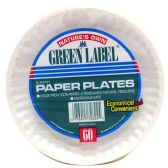 "100 Units of 6""/60 count paper plate - Kitchen"