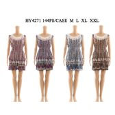 72 Units of Womens Fashion Summer Romper With Lace Neck