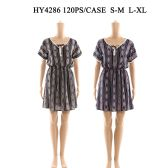 60 Units of Womens Fashion Short Summer Dress In Assorted Sizes