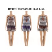 60 Units of Womens Fashion Summer Romper Assorted Color And Size