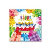 "96 Units of napkin B'day 13""x13""/8 count"