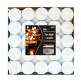 24 Units of 50 Count tea light candle
