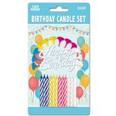 144 Units of Birthday candle set - Birthday Candles