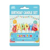 144 Units of Birthday Candle Letters - Birthday Candles
