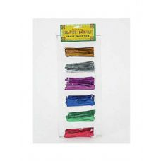 108 Units of Metallic Twist Tie - Craft Wood Sticks and Dowels