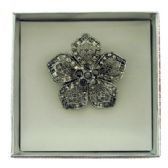 36 Units of Flower pin with gift box