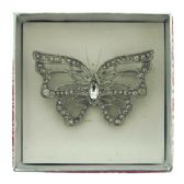 36 Units of Butterfly pin with gift box