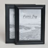 240 Units of Photo Frame 5x7 2ast Black Plastic In 12pc Pdq Shrink/label
