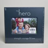 288 Units of Photo Frame 6 X 4 My Hero Courage, Bravery And Love *6.99* # 26041wx