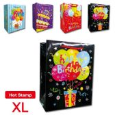 "144 Units of B'day bag 11.8x15.7x5""/ X Large"
