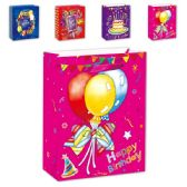 "72 Units of Bday bag GLT 13x18x5.5""/"