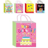 "144 Units of B'day bag Hot Stamping 10.5x13x5.5""/ Large"