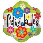 "125 Units of 2-side ""felicidades"" Balloon"