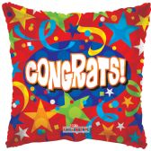 "125 Units of 2-side ""congrats"" Balloons"