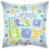 "125 Units of 2-side ""congrats a boy"" Balloon"
