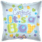 "125 Units of 2-side ""congrats a boy"" Balloon"