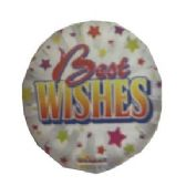 "125 Units of 2-side ""best wishes"" balloon"