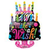"30 Units of 2-side 36"" ""wish"" shaped Balloon"