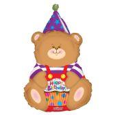 "30 Units of 2-side 36"" ""Happy BIrthday"" shaped Balloon"