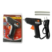 72 Units of UL GLUE GUN W/2PC GLUE STICK - Glue Office and School