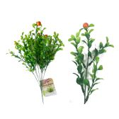 72 Units of LEAVES STEM WITH 4 FRUIT - Artificial Flowers