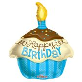 "100 Units of 2-side 18"" ""Happy BIrthday"" shaped Balloon"