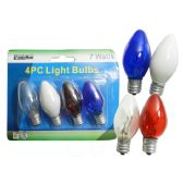 96 Units of 4pc 7 Watt Lightbulbs - LIGHT BULBS