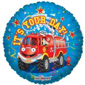 "125 Units of 2-side ""it's your day"" Balloon"