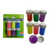 72 Units of 6pc Craft Poster Paint - Paint, Brushes & Finger Paint