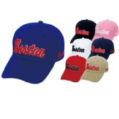 48 Units of Baseball cap Boston - Baseball Caps & Snap Backs