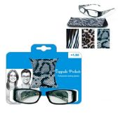 60 Units of Reading Glasses With Case Assorted