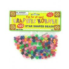 72 Units of Star shaped crafting beads